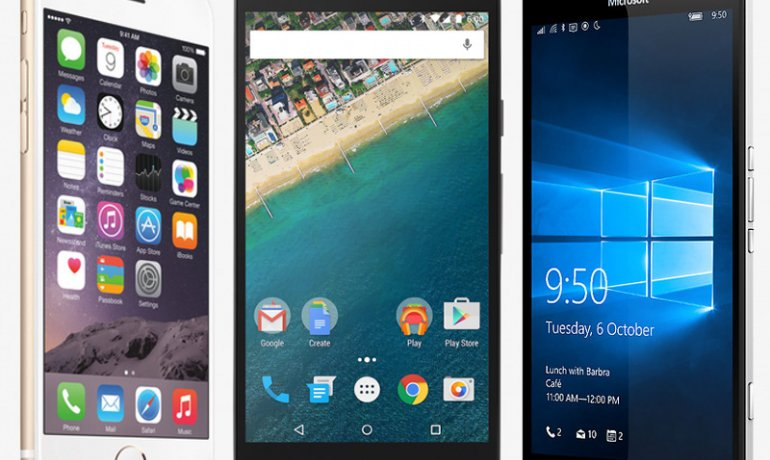 Comparativ telefoane Lumia 950 vs iPhone 5s vs Nexus 5s