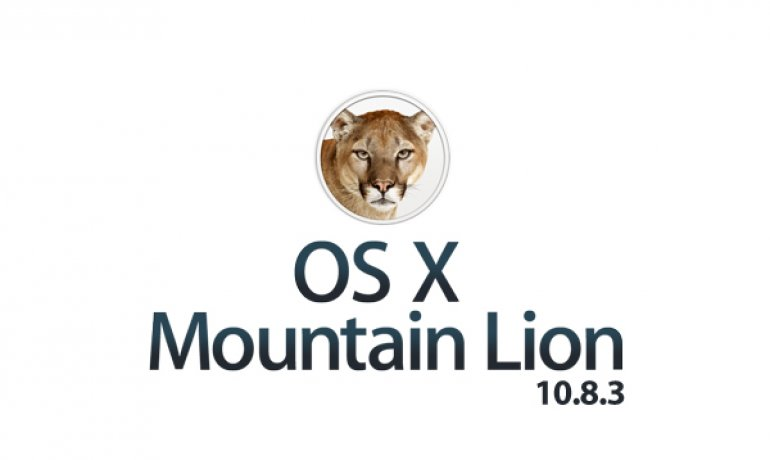 OS X Mountain Lion 10.8.3 Update