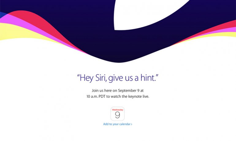 Evenimentul Apple din 9 septembrie 2015