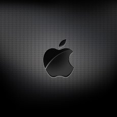 Logo Apple metal