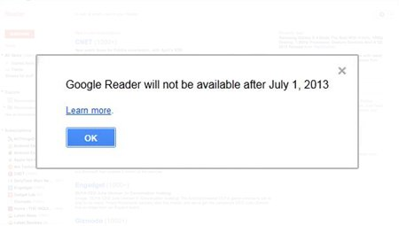 Google Reader se va închide - TechStyle