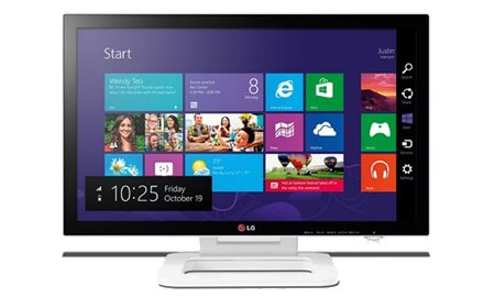 LG Touch 10 ET83, monitor pentru Windows 8 - TechStyle