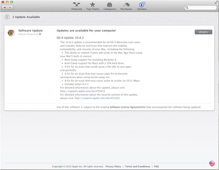OS X Mountain Lion 10.8.3 Update - TechStyle
